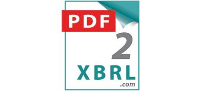 pdf2xbrl